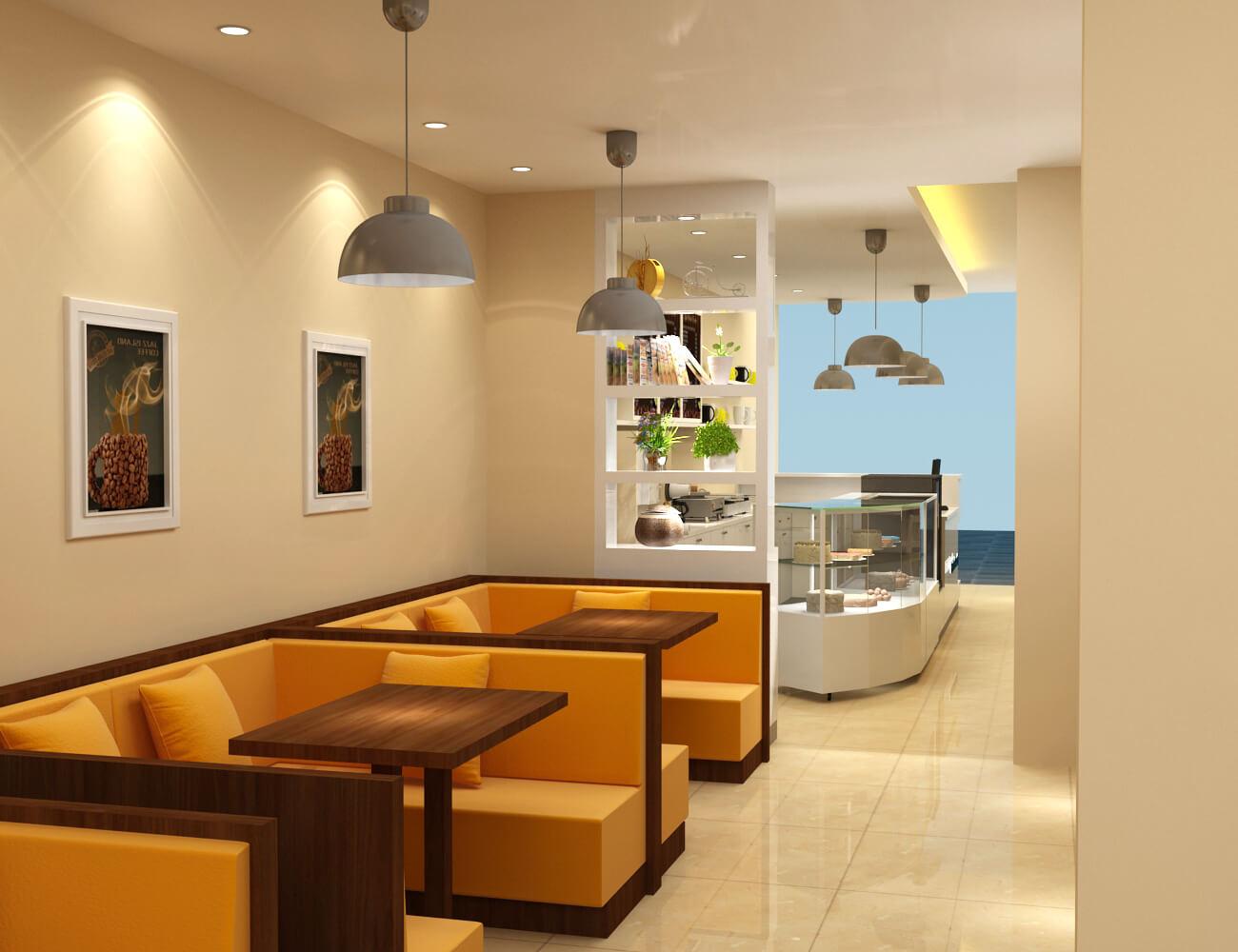 dessert shop design