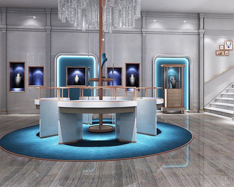 Amercian Jewelry Store Design
