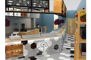 crepe store design