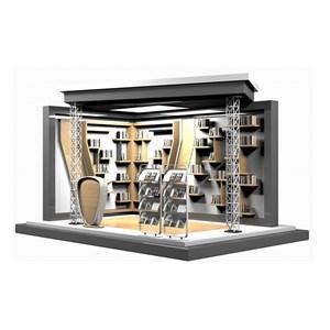 book showcase in mall