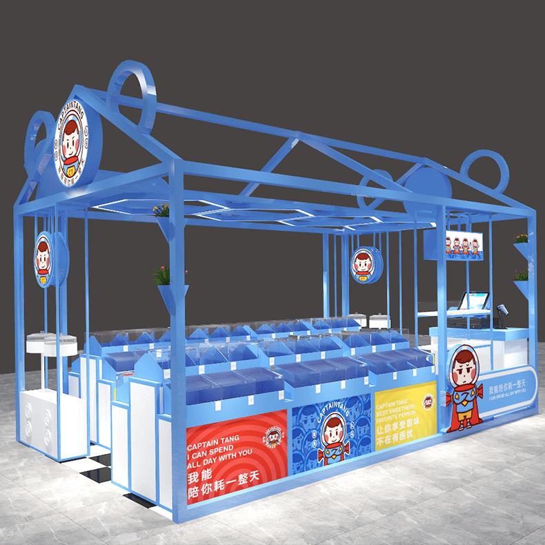 blue idea candy store