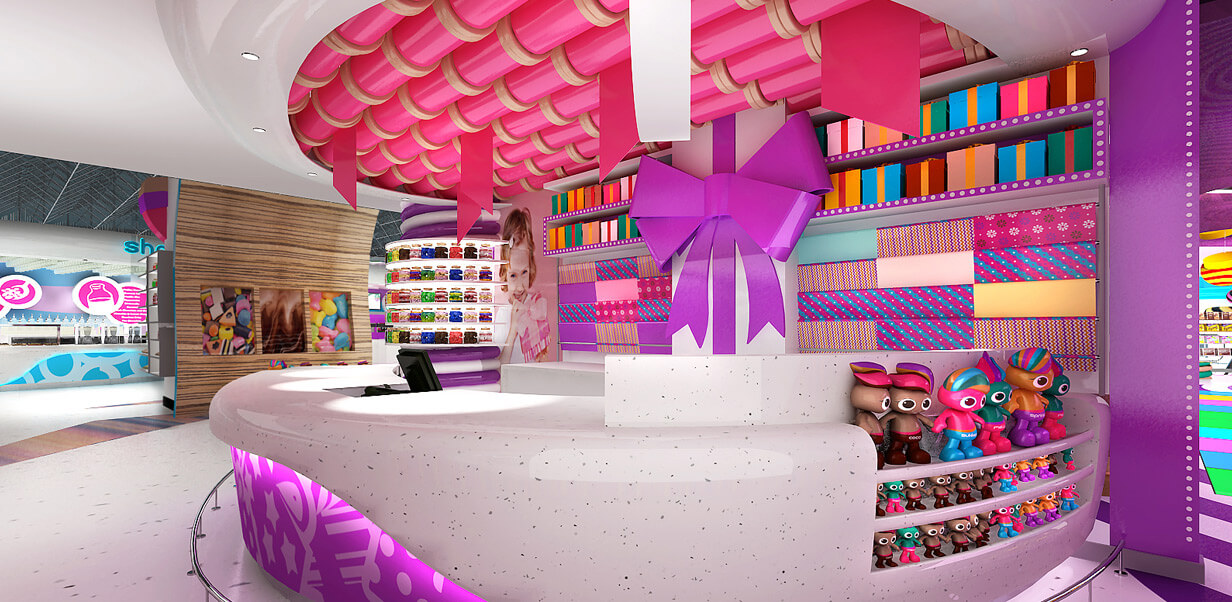 Decorating Ideas For Sweet Shop