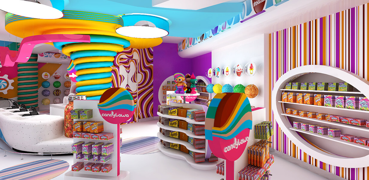 candylawa shop stands design