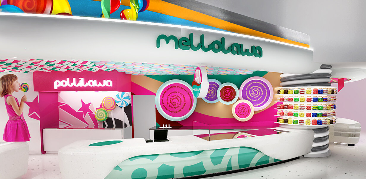 candy store retail design