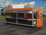 outdoor food booth