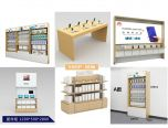 Huawei Store Fixtures & Shop Fittings W/ Retail Display Shelves, Wall Display Cases, Experience Tables For Sale