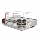 High Quality Jewelry Kiosk Design | Unique Mall jewelry Display Booth For Sale
