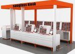 sunglass booth