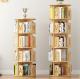 Children's revolving bookshelf | creative round book display furniture