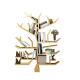 Tree shape book display | creative design for book shelf