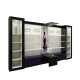 Luxurious style for perfume shop | high quality gold display cabinets