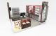 Wooden style mall sunglasses kiosk | custom attractive eyeglasses stand