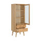 curio cabinet wood cabient