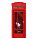 Outdoor retail phone booth | street display phone booth for sale