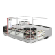 High Quality Jewelry Kiosk Design   Unique Mall jewelry Display Booth For Sale
