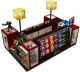 Fashion Mall Toy Kiosk Attractive Retail Display Shelf Children Toys Counter