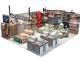 New Design Mall Pillow Kiosk Retail Home Textiles Kiosk Modern Quilts Booth