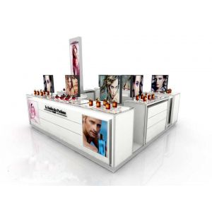 perfume kiosk design