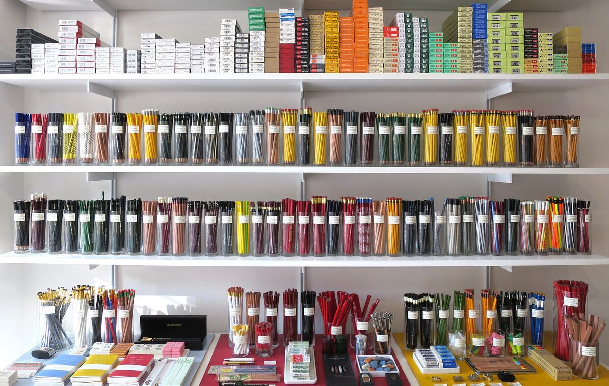 stationery store racks