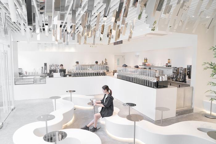 bubble tea shop interior design ideas