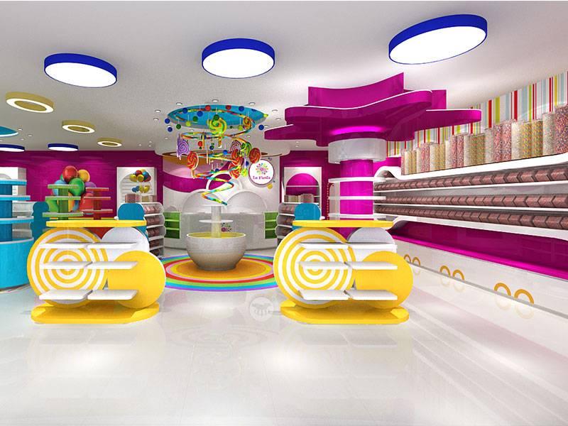 candy store display fixtrues