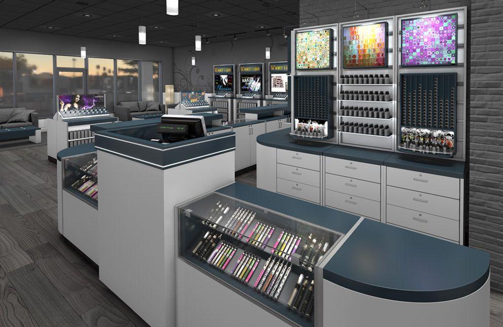 vape store design
