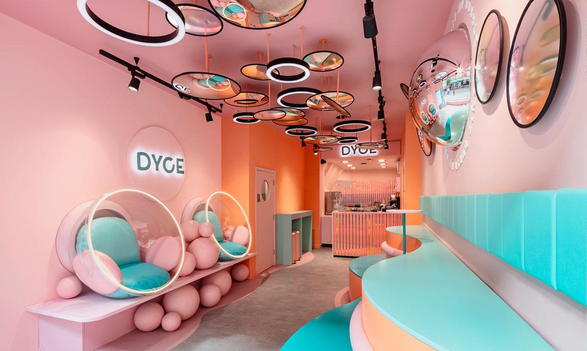 ice cream shop interior ideas