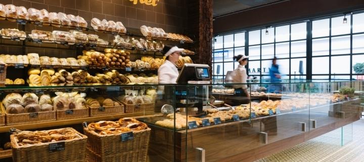 bakery bar counter design