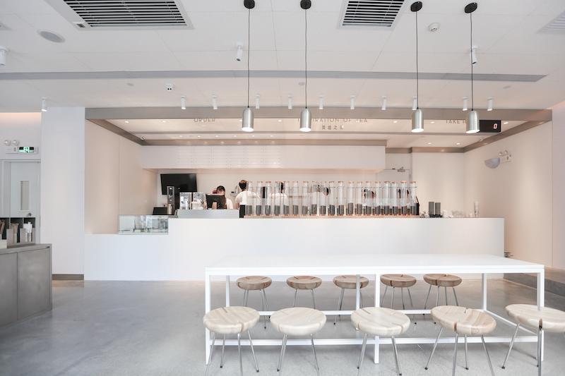 bubble tea shop counter design