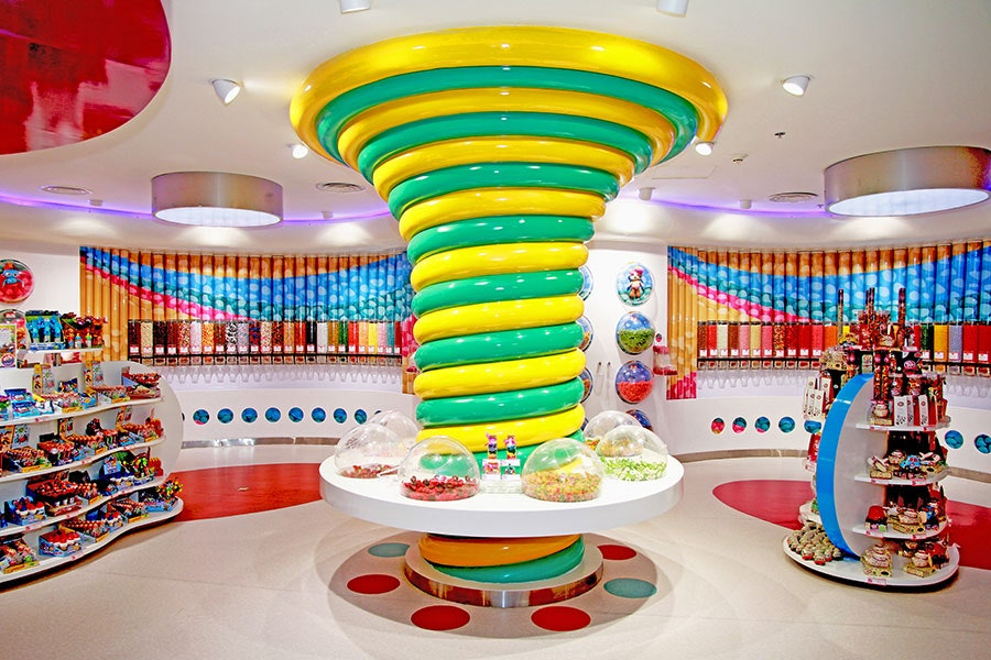 candy store interior concepts