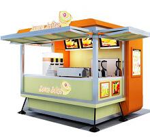 Outdoor Ice Cream Stand
