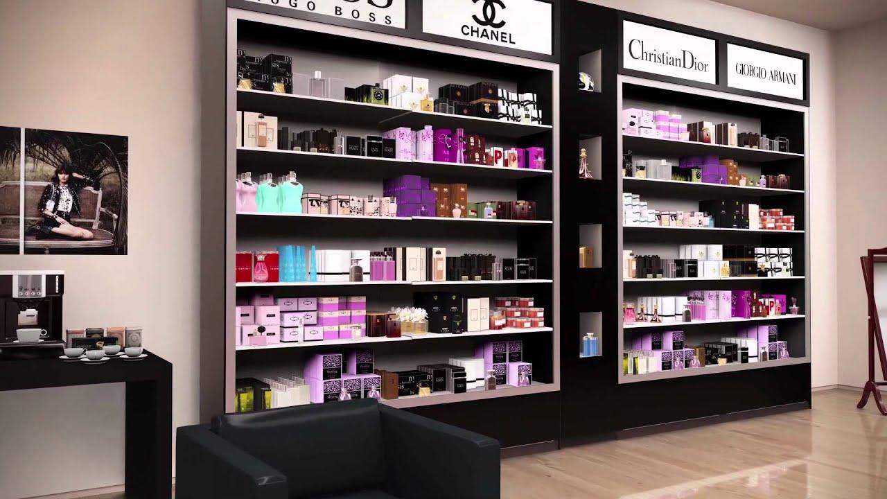 perfume shopfitting