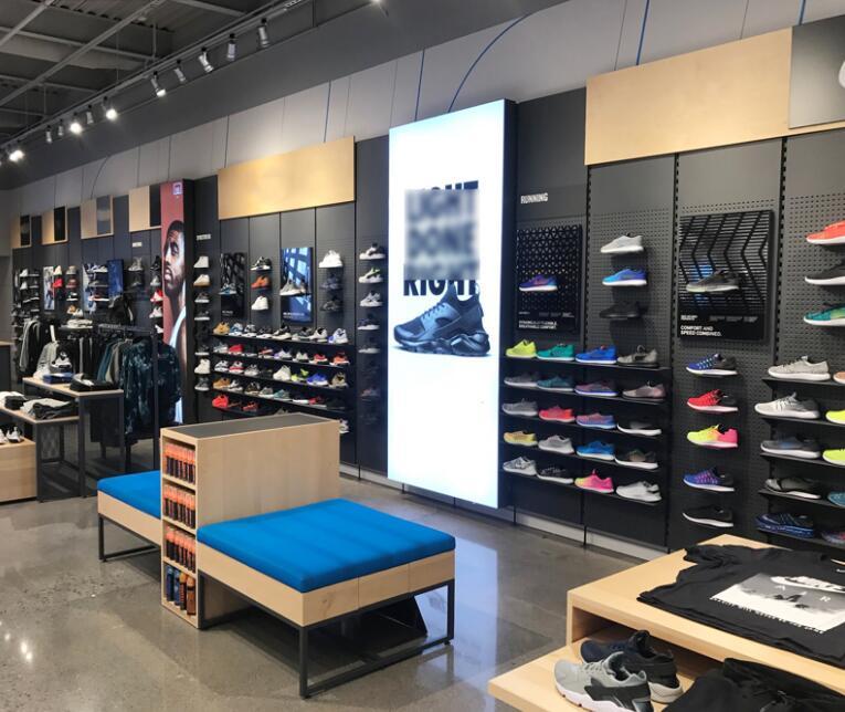 sports shoe retail store