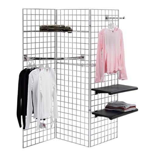 gridwall display racks