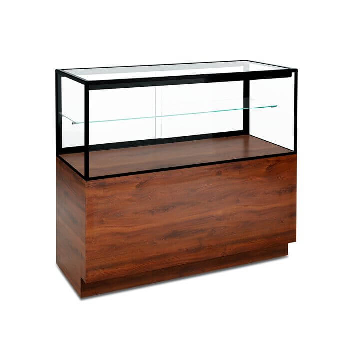 wooden display case showcase