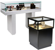 Led Lighted Jewelry showcases