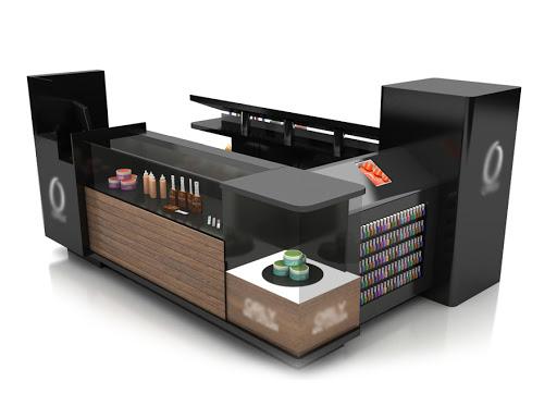 cosmetic kiosk design