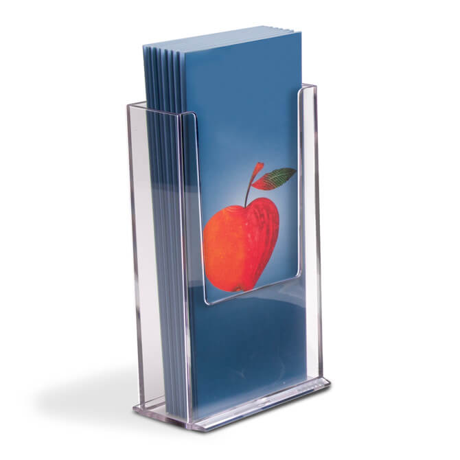 acrylic brochure holder