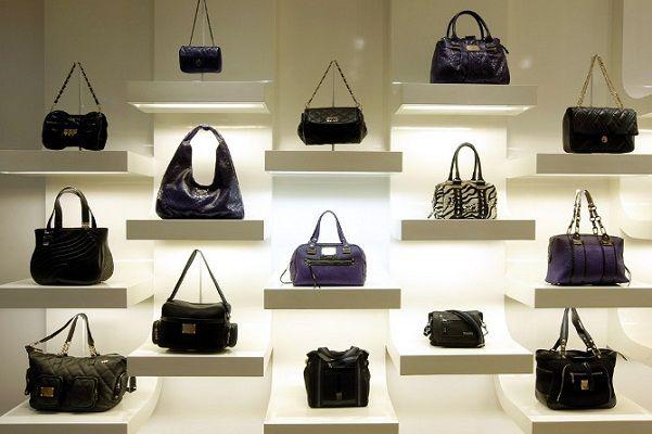 handbag purse display racks