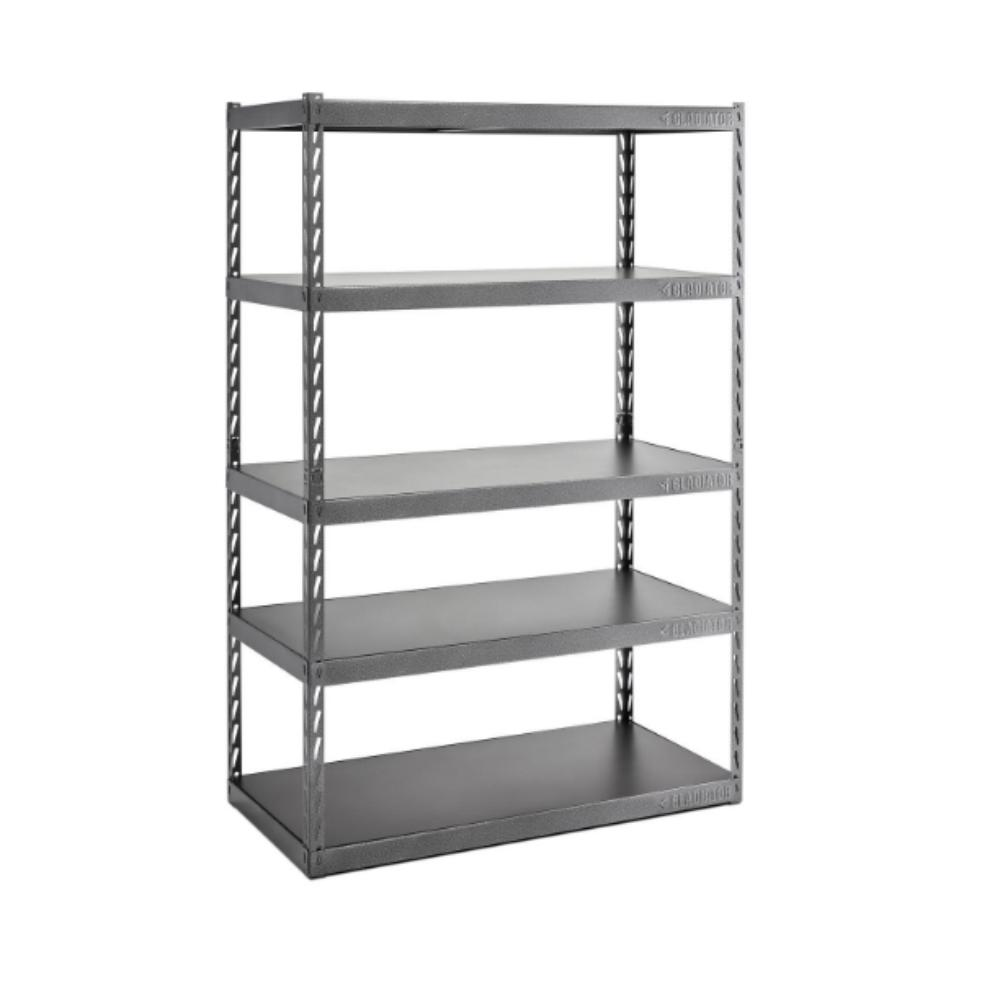 EZ metal shelving unit