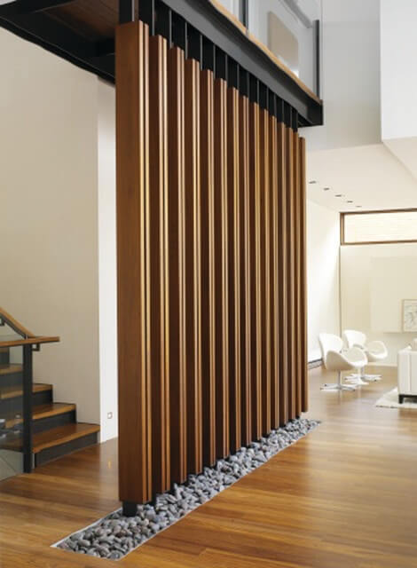 wooden stone room divider partitions