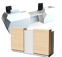 2-person front desks
