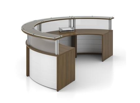 C shape desks