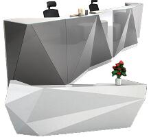 geometric welcome counter