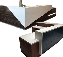 Quartz Granite Reception Desk
