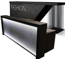 metal stainless steel reception tables