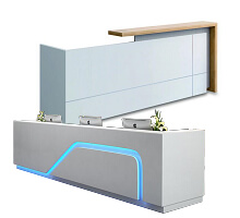 Modern Creative reception counter