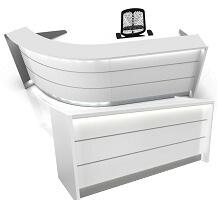 white front desks