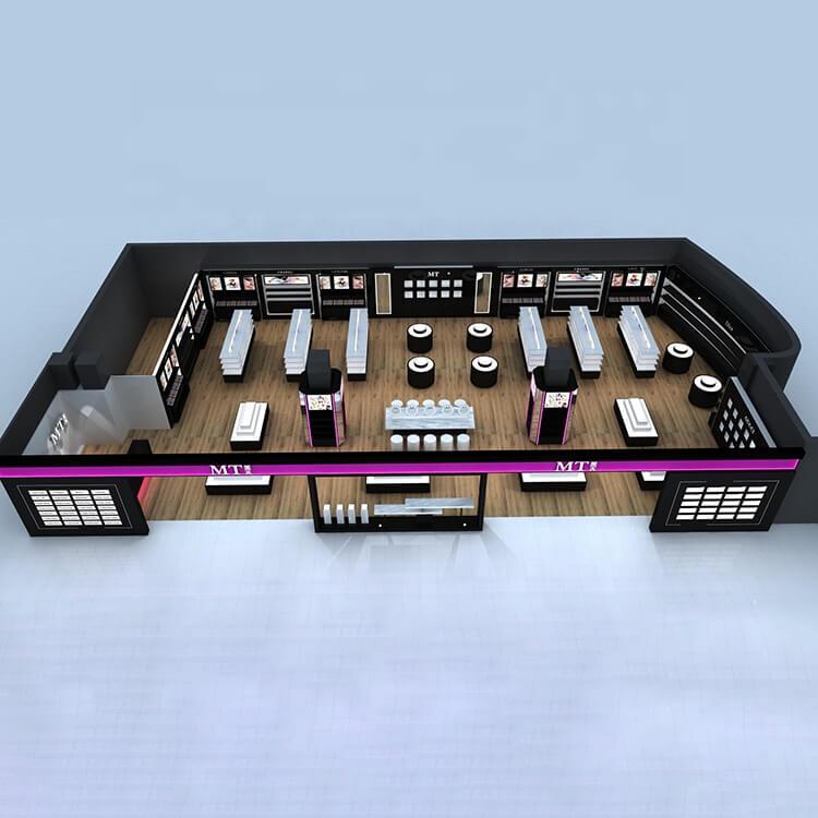 makeup interior store design