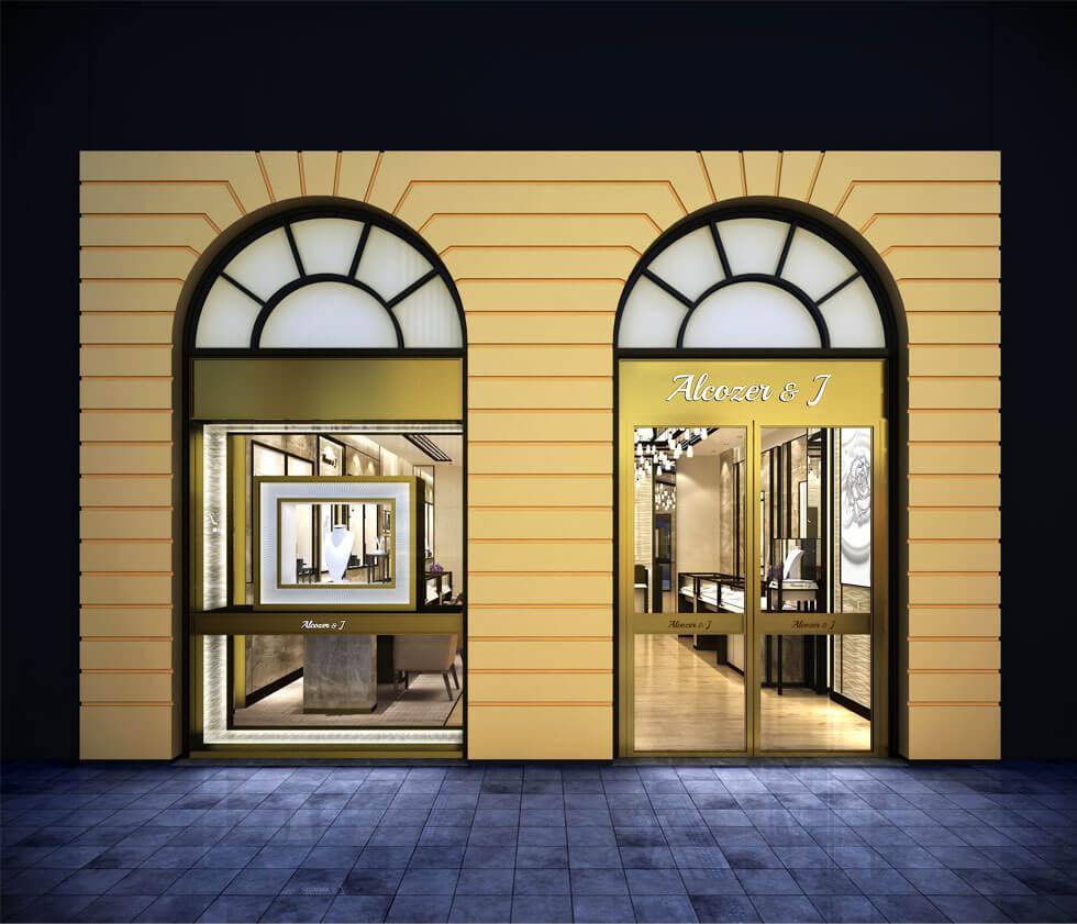 Diamond showroom design